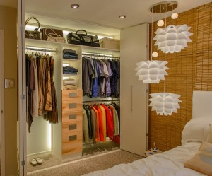 Closet lighting design ideas led