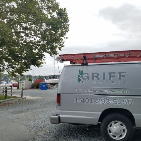 Griff Electric truck licensed electrician portsmouth rhode island
