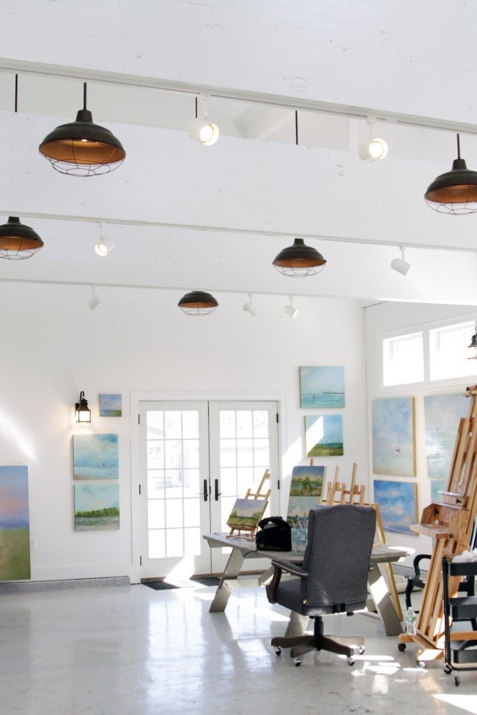 Art Studio Lighting Portsmouth Rhode Island Griff Electric